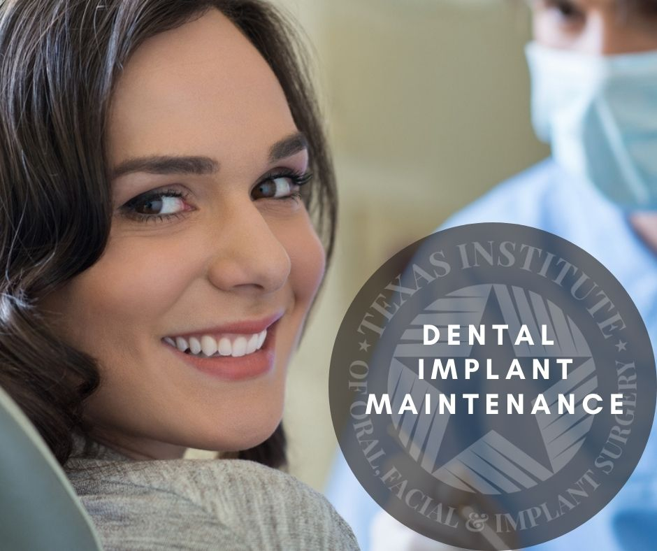 How do you take care of dental implants?