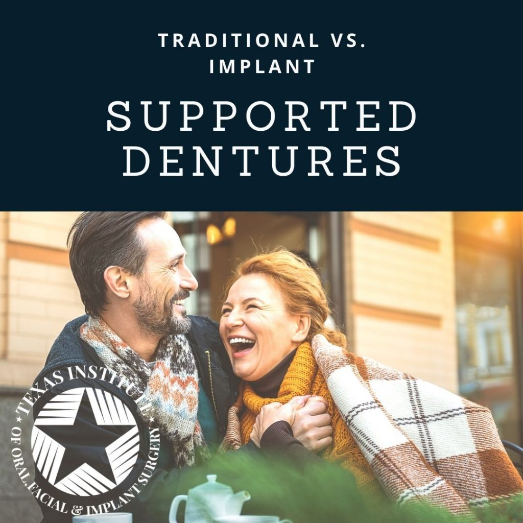 advantage of implant supported dentures Dallas